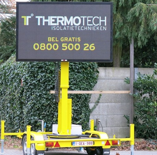 LED trailer Thermotech